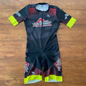 Suarez XL Cycling Skinsuit Speedsuit Racesuit Pro Team Trainer Sports Thin Pad
