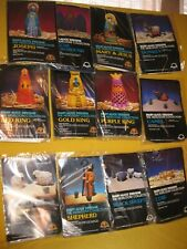 Mary-Alice Nativity 3-D crewel kits, 10 kits unopened, 2 opened but complete