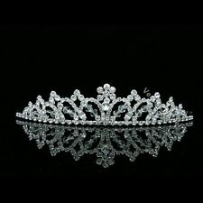 cee55ca4d7c57e Bridal Rhinestone Crystal Wedding Prom Princess Crown Tiara 7602
