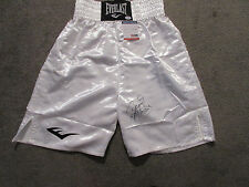 MANNY PACQUIAO SIGNED EVERLAST BOXING TRUNKS PSA/DNA COA AA88442 PACMAN