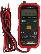 TekPower TP8231 2000 Counts Digital Multimeter with Non Contact Voltage Detector