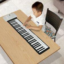 Lujex Foldable 88 Key Flexible Soft Electric Digital Roll Up Keyboard Horn Piano