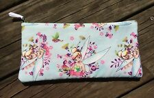 Tinkerbell / Fairy Handmade Pencil Case / Back To School Supplies