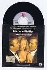 45 RPM SP OST MICHELLE PFEIFFER DAVE GRUSIN THE FABULOUS BAKER BOYS