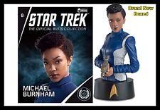 Eaglemoss Star Trek Collectors Busts: Michael Burnham Issue 8 (Mag + Bust) New