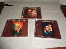 More details for karate kid part i + karate kid ii + karate kid iii limited soundtrack cd new