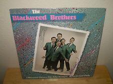"BLACKWOOD BROTHERS....""I BOWED DOWN ON MY KNEES"".....""AUTOGRAPHED"".....GOSPEL LP"