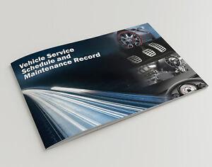 Car Service History Book Handbook Blank Ford Fiesta Focus Mondeo Kuga SMax CMax