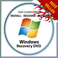 Windows 10 ALL VERSIONS 32 64 Bit Recovery Install, Boot, Restore DVD Disc Disk