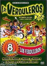LOS VERDULEROS VOL 1 Y 2/ MOFLES 1,2,3, Y 4/CAIFAN DEL BARRIO Y CHIVA LOCA 8 IN1