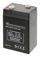 6V 4Ah Universal Sealed Rechargeable Lead Acid Battery - No Spill
