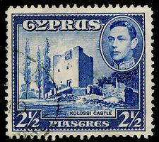 CYPRUS SG156, 2½pi ultramarine, FINE USED.