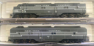 Life-Like N Scale New York Central NYC E7 AB Passenger Locomotives #4023/4107