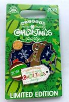 DISNEY MICKEY'S VERY MERRY CHRISTMAS PARTY GINGERBREAD MAN LIMITED EDITION PIN
