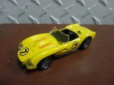 Loose Hot Wheels Yellow Ferrari 250 w/7 Spoke Wheels