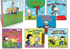 Peanuts Gang Collector's Set Snoopy Takes Off,Go Fly Kite Charlie Brown,Linus ++