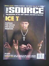The Source Magazine Apr 1996 Rap Hip Hop Ice-T Gangs Busta Rhymes Lil Kim Foxxy