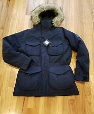 Polo Ralph Lauren RLX Faux Fur Ranger Down Parka-AVIATOR NAVY Sz Large Men New