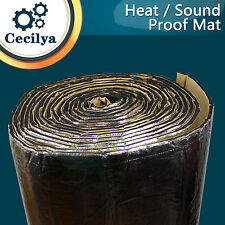 Heat Shield Sound Dampening Noise Deadner Proofing For Car Auto System 76cm x 1M