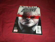 "Daredevil #116 marvel 2009 modern age 9.4/9.6 comic! ""Return of the King"" Part 1"