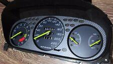 Gauges face Overlay SPOON style blue Honda Civic 96-00 Ek Ej Em Gauge Cluster