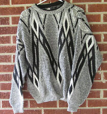 Vintage 80s 90s Sweater Kennington Size Extra Large XL Crewneck Geometric