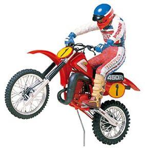 TAMIYA 1/12 Moto No.18 Honda CR450R Avec Motocross Cavalier Plastique 14018