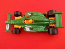 2011 Indycar Oval Course green Race Car Hot Wheels HW loose toy
