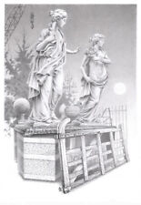 "NEW BEAUTIFUL DAVID ALDERSLADE ""Reclamation"" STATUE STATUES PEN & INK PAINTING"