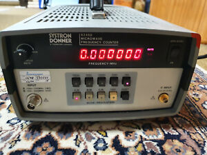 Systron Donner 6246B 26.5 GHz Frequency Counter Freqenzzähler
