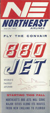 Northeast Airlines system timetable 6/24/60 [0051]