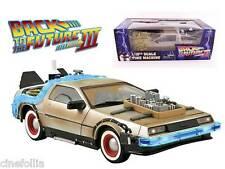 Modellino Ritorno al Futuro DeLorean Time machine Back to future III 1/15 32 cm