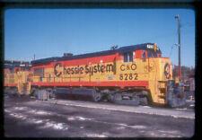 C&O 8282 B30-7 (CHESAPEAKE & OHIO) --- Original Slide T6-12