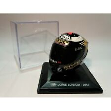 JORGE LORENZO 2012 / WORLD CHAMPION MOTO GP / MINIATURA CASCO - HELMET Scala 1:5