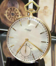 ANTIQUE '35 MAPPIN & WEBB  SOLID 18K GOLD WATCH LESLIE BOOSEY (& HAWKES) & BOX