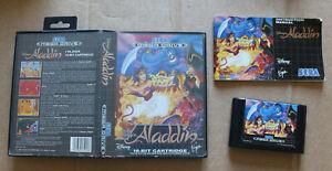 SEGA Mega Drive Aladdin COMPLET - 1993