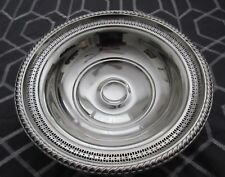 "LAPIERRE STERLING SILVER DISH. 8 1/2 "" WIDTH, 3 "" HEIGHT, & 3 "" BASE. ""WEIGHTED"""