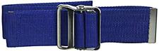 Elite Medical Instruments Gait Transfer Belt with Metal Buckle, Royal