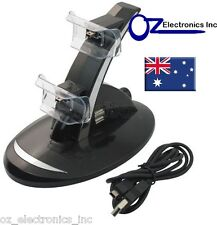 USB Dual Charger Dock Charging Station for Sony PS3 Controller NEW