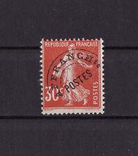 timbre France préoblitéré   semeuse  30c  rouge    n° 58 **