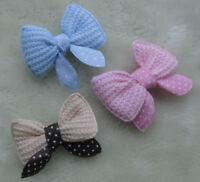 30pcs Ribbon Bows Flowers wedding/appliques lots mix A629