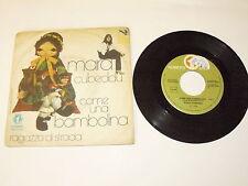 """MARA CUBEDDU """"COME UNA BAMBOLINA"""" disco 45 giri NUMERO UNO Italy 1976"""