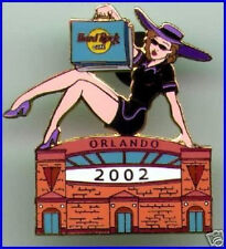 Hard Rock Cafe ORLANDO 2002 Outlet Mall Shopping Girl PIN - HRC Catalog #15424