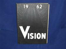 "1962 MANSFIELD YOUTH FOR CHRIST CHRISTIAN SCHOOL SENIOR YEARBOOK "" THE VISION """