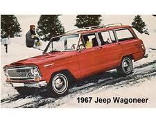 1967 Jeep Wagoneer Auto Car Refrigerator / Tool Box Magnet Gift Card Insert