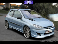 PEUGEOT 206 / FRONT BUMPER / FIT PERFECT / REAL PHOTO