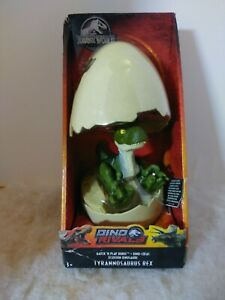 Mattel Jurassic World Dino Rival Hatch & Play Dinos Tyrannosaurus Rex Figure