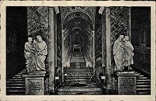 Roma Rom Italien Ansichtskarte ~1930 La Scala Santa Heilige Treppe zur Kapelle