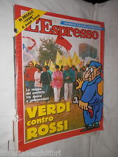 Verdi Giorgio La Malfa Fancesco Cossiga Diego Novelli Mario Andrione Girombelli