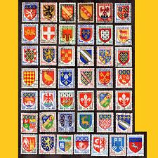 COLLECTION 43 BLASONS DE VILLES ET DE PROVINCES DE FRANCE - ANNEES 1943 A 1966